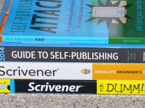 self-publishing, Scrivener pile