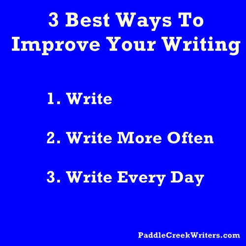 Best way to improve writing